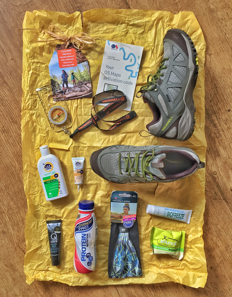 Splodz Blogz | Merrell Siren MyNature Goodies