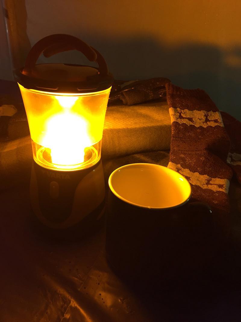 Splodz Blogz | Camping Weekend with VARTA - VARTA Lamp