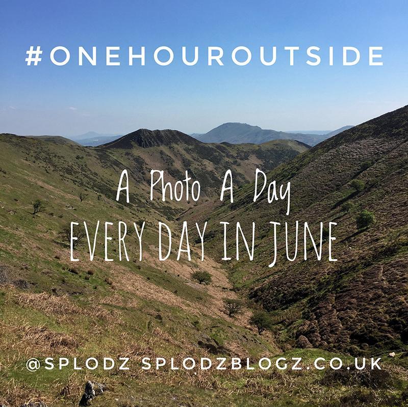 Splodz Blogz   One Hour Outside #OneHourOutside
