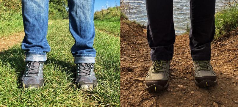 CHOOSING WALKING SHOES