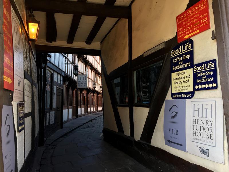 Splodz Blogz   Original Shrewsbury   Henry Tudor House