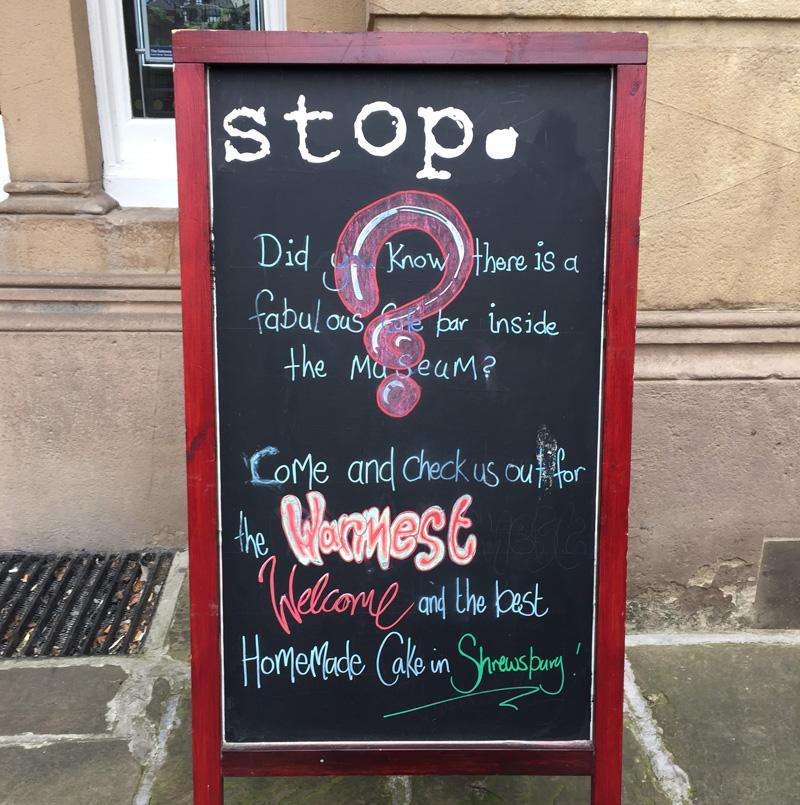 Splodz Blogz   Original Shrewsbury   Stop Cafe