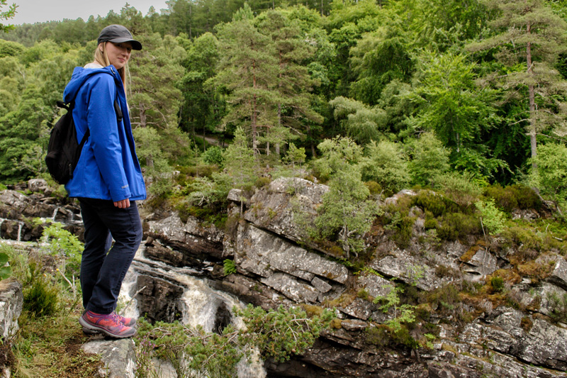 Splodz Blogz | Rogie Falls - Wearing my Horizon Cap from Millets