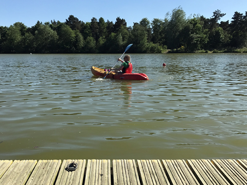 Splodz Blogz | Kayaking at Center Parcs