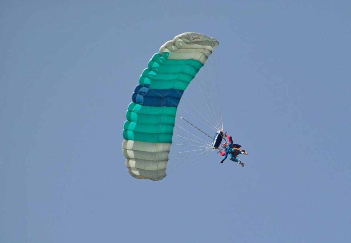 Splodz Blogz | Tandem Skydive for RNIB