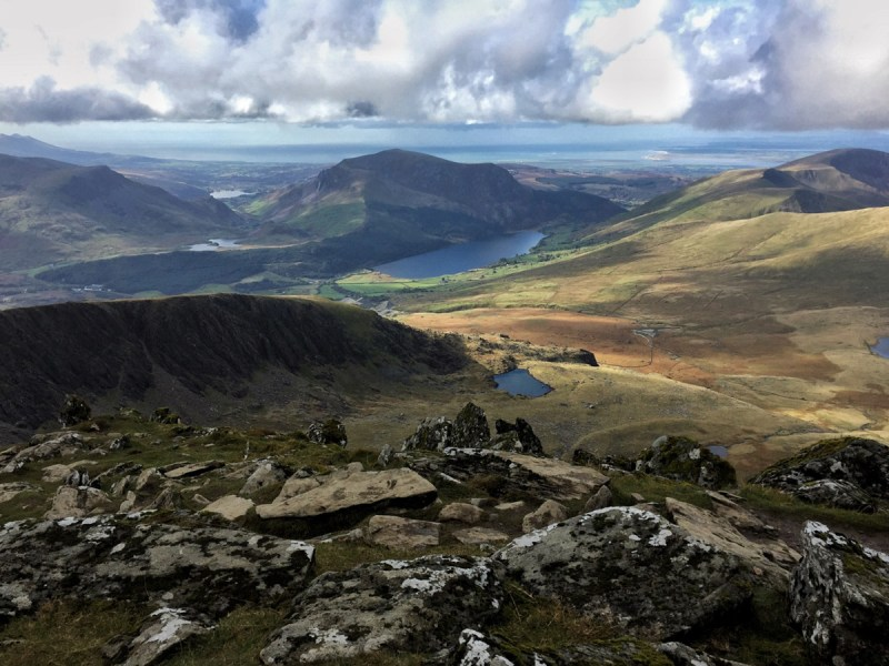 Splodz Blogz | View from Snowdon to the Sea