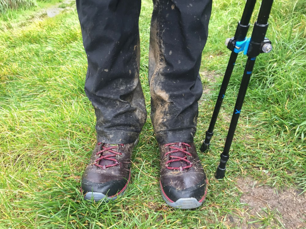 Splodz Blogz | Muddy Boots and Walking Poles on the Harvest Hobble
