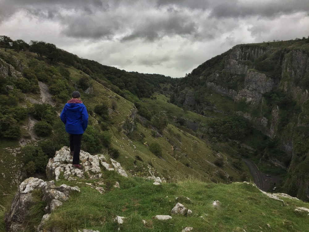 Splodz Blogz   Looking out over Cheddar Gorge