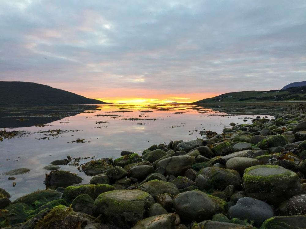 Splodz Blogz | NC500 | Sunset over Loch Broom