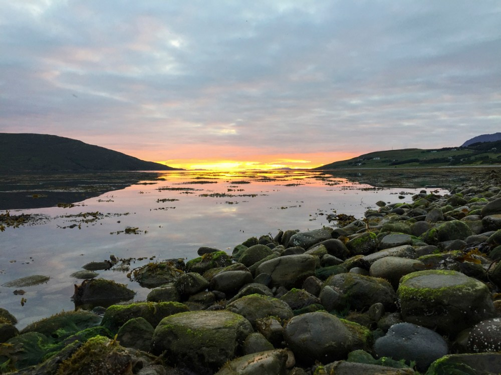 Splodz Blogz | NC500 | Sunset over Loch Broom