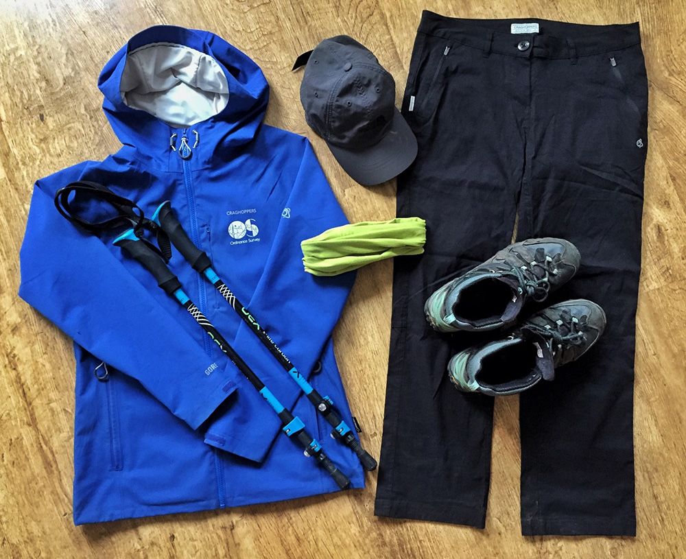 Splodz Blogz | West Highland Way Kit including Walking Poles