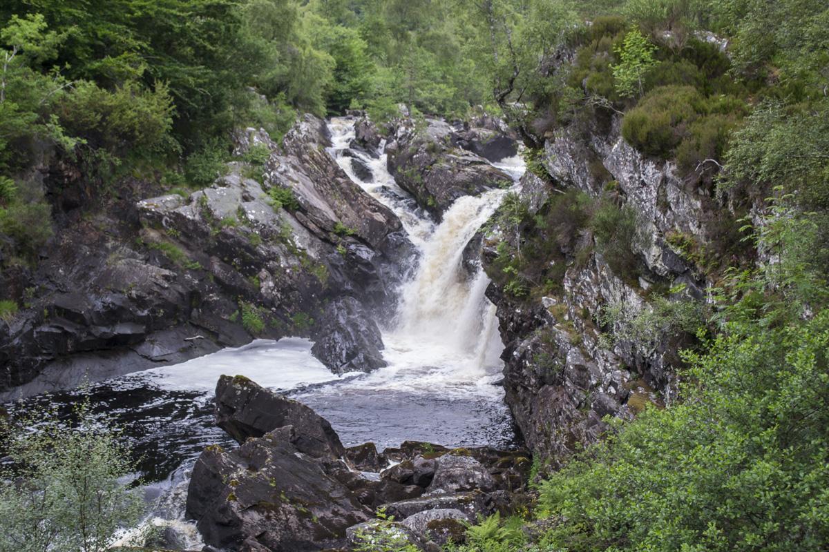 Splodz Blogz | NC500 | Rogie Falls