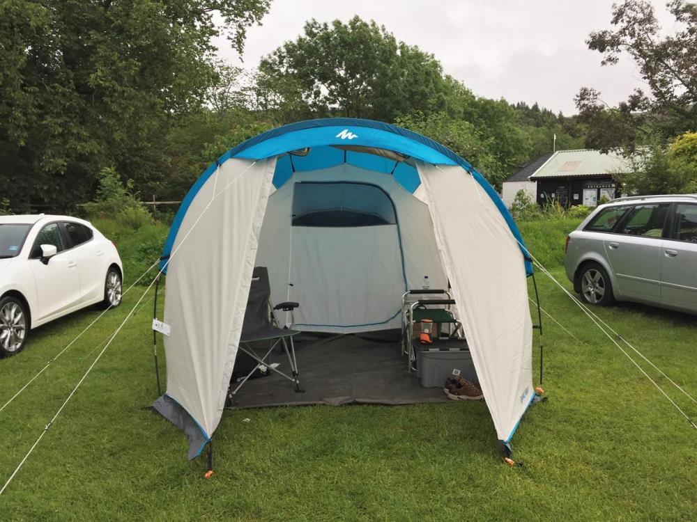 Splodz Blogz | NC500 | Tent at Applecross Campsite