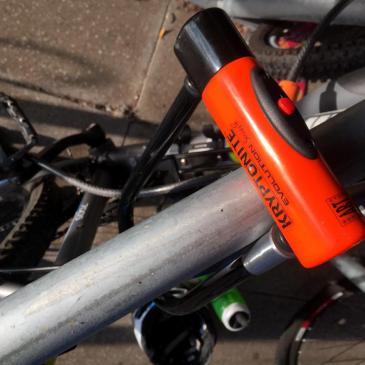 CYCLE SECURITY TIPS | KRYPTONITE SERIES 4 D LOCK