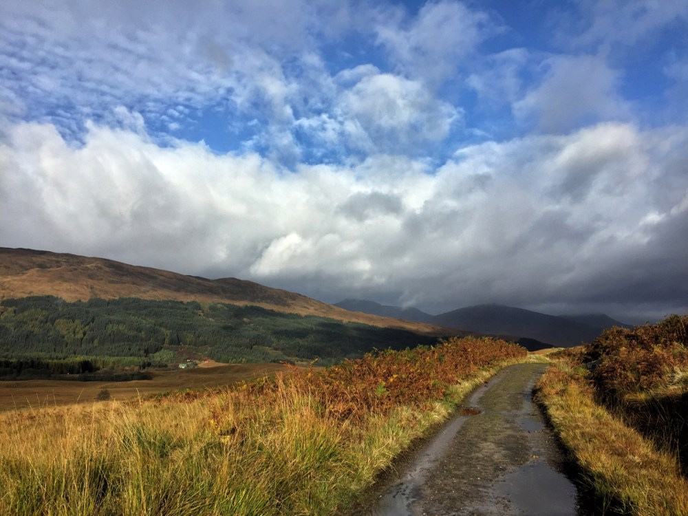 Splodz Blogz | West Highland Way - Towards Glencoe