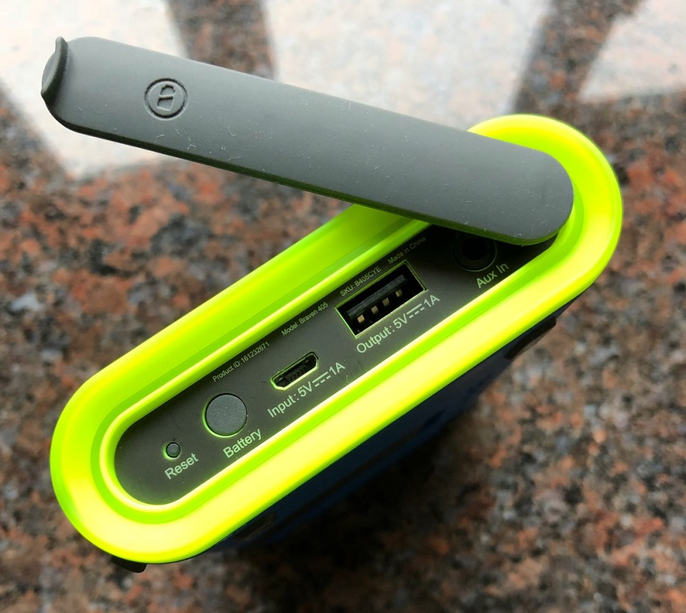Braven 405 Waterproof Speaker | Splodz Blogz