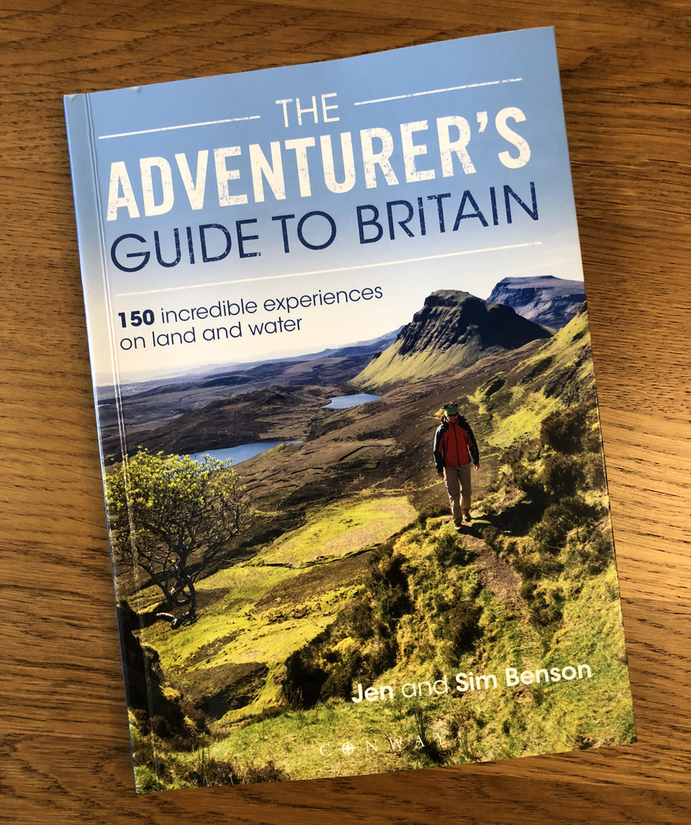 Splodz Blogz | The Adventurer's Guide to Britain, Jen and Sim Benson