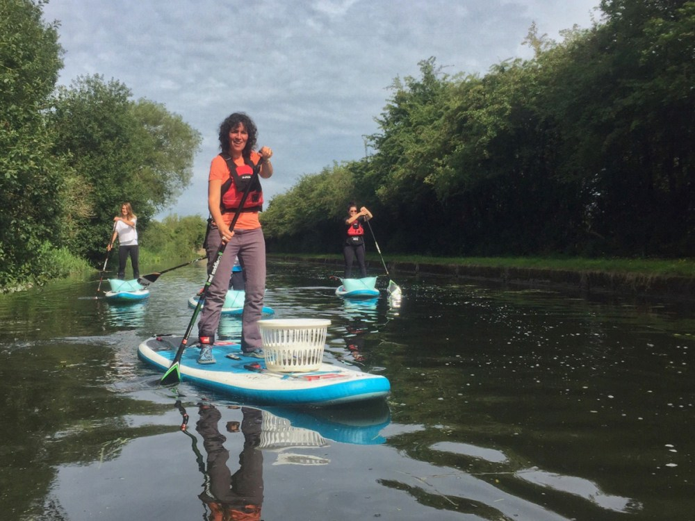 Splodz Blogz | Plastic Patrol SUP litter pick in Nottingham