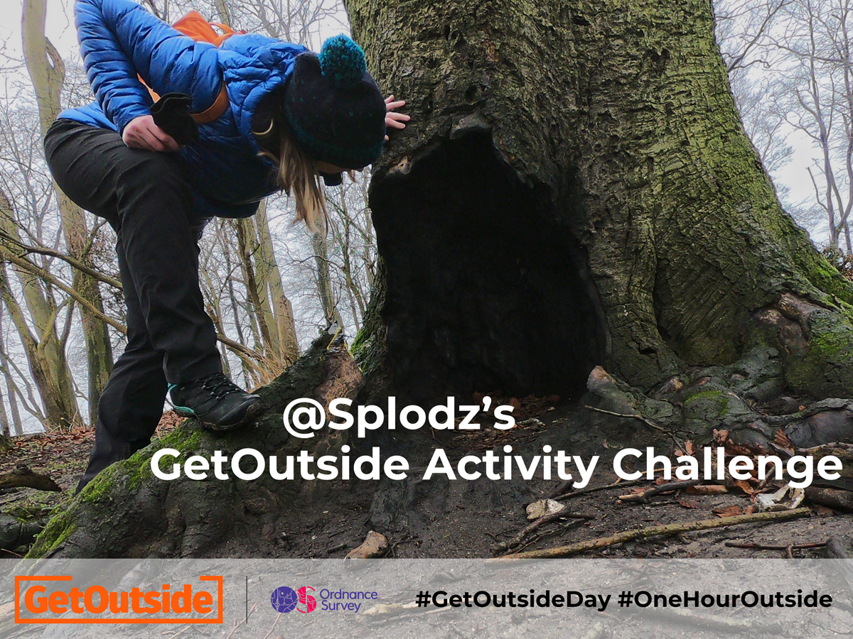 MY GETOUTSIDE ACTIVITY CHALLENGE IS ON!