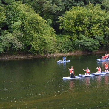 PADDLEBOARDING ON THE RIVER WYE WITH INSPIRE2ADVENTURE