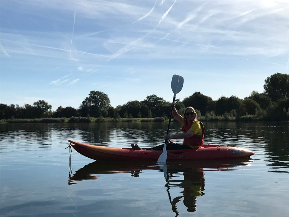 Splodz Blogz | GetOutside Activity Challenge - Kayaking