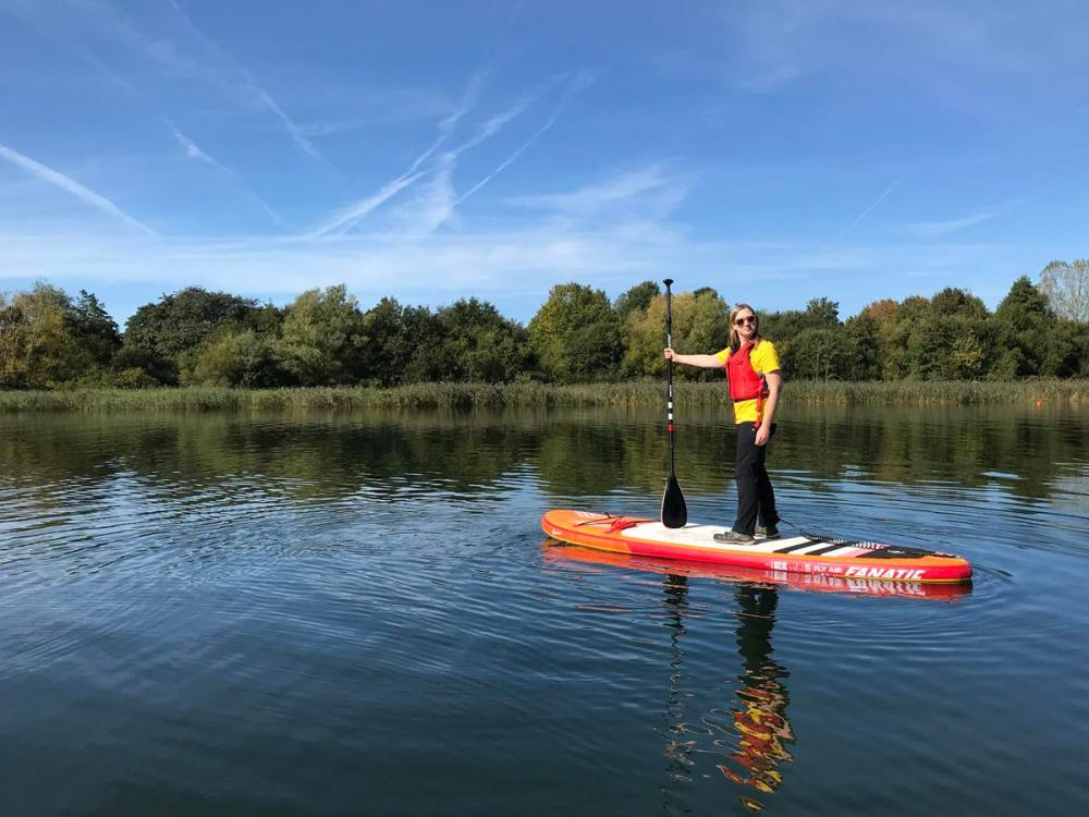 Splodz Blogz | GetOutside Activity Challenge - Paddleboarding