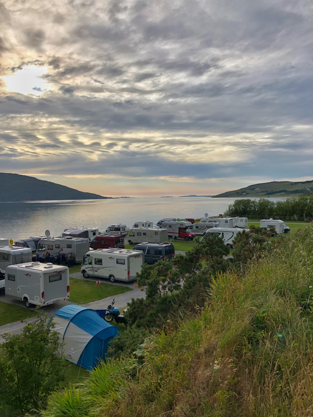 Splodz Blogz | NC500 - Broomfield Holiday Park, Ullapool