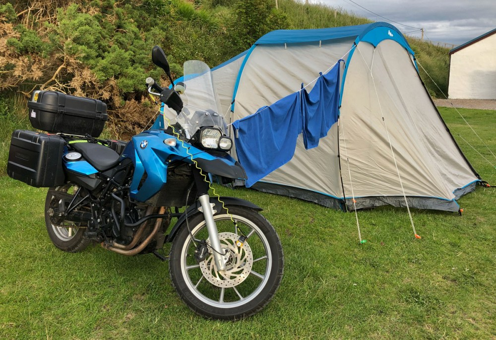 Splodz Blogz   NC500 - Motorcycle Camping