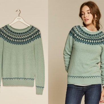 COSY JUMPERS FOR COLD DAYS