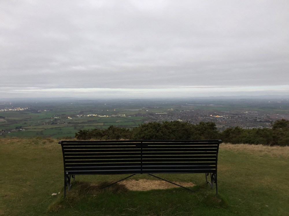 Splodz Blogz | Sunrise from Cleeve Hill