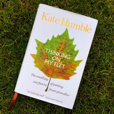 BOOK REVIEW: THINKING ON MY FEET, KATE HUMBLE