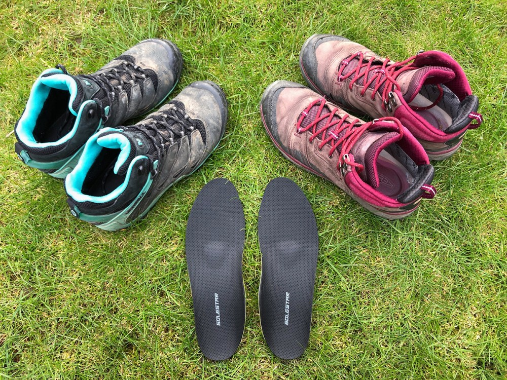 Splodz Blogz | Solestar Hiking Insoles