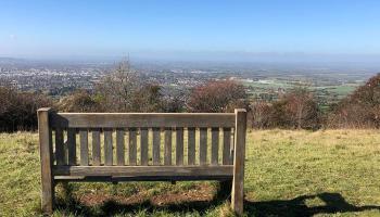 Splodz Blogz | View of Cheltenham from Cleeve Hill