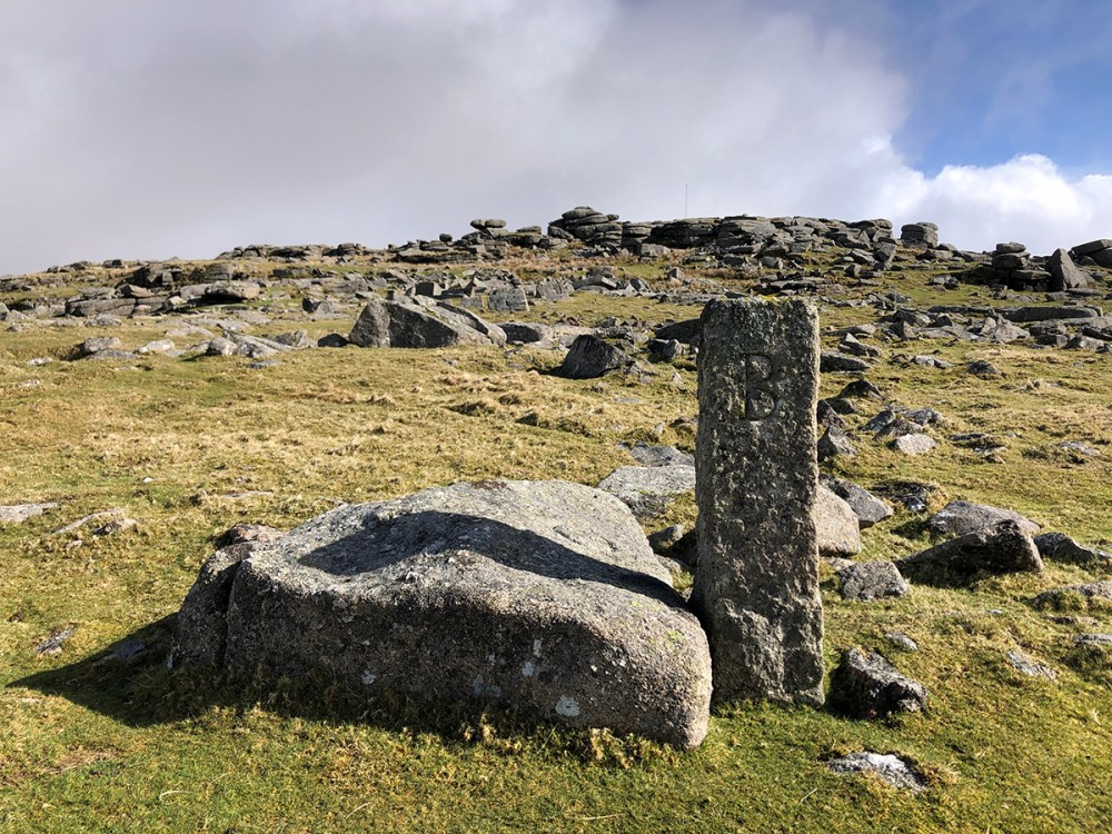 Splodz Blogz | Marker B at Roos Tor, Dartmoor National Park