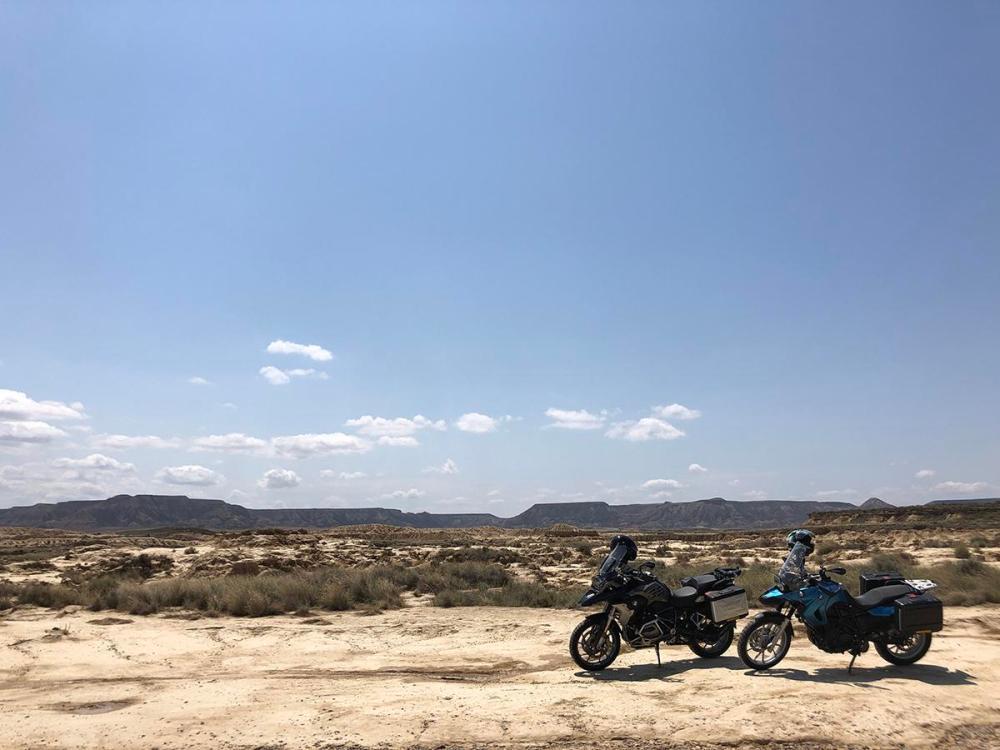 Splodz Blogz | Motorbikes in Spain - Bardenas Reales