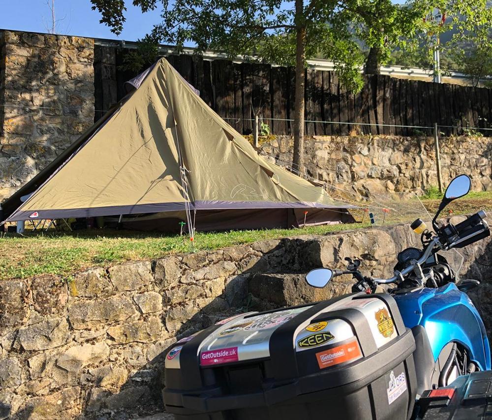 Splodz Blogz | Robens Green Cone Tipi Tent