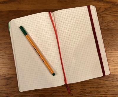 Splodz Blogz   Moleskine Squared Notebook Journal