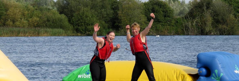 Splodz Blogz | Wibit Aquaventure at Cotswold Country Park and Beach