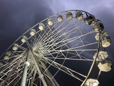 Splodz Blogz | Light Up Cheltenham Observation Wheel