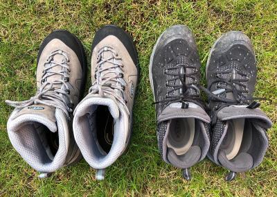 Splodz Blogz | Choosing Hiking Boots - KEEN Kerraig vs Terradora Evo