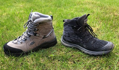 Splodz Blogz   Choosing Hiking Boots - KEEN Kerraig vs Terradora Evo