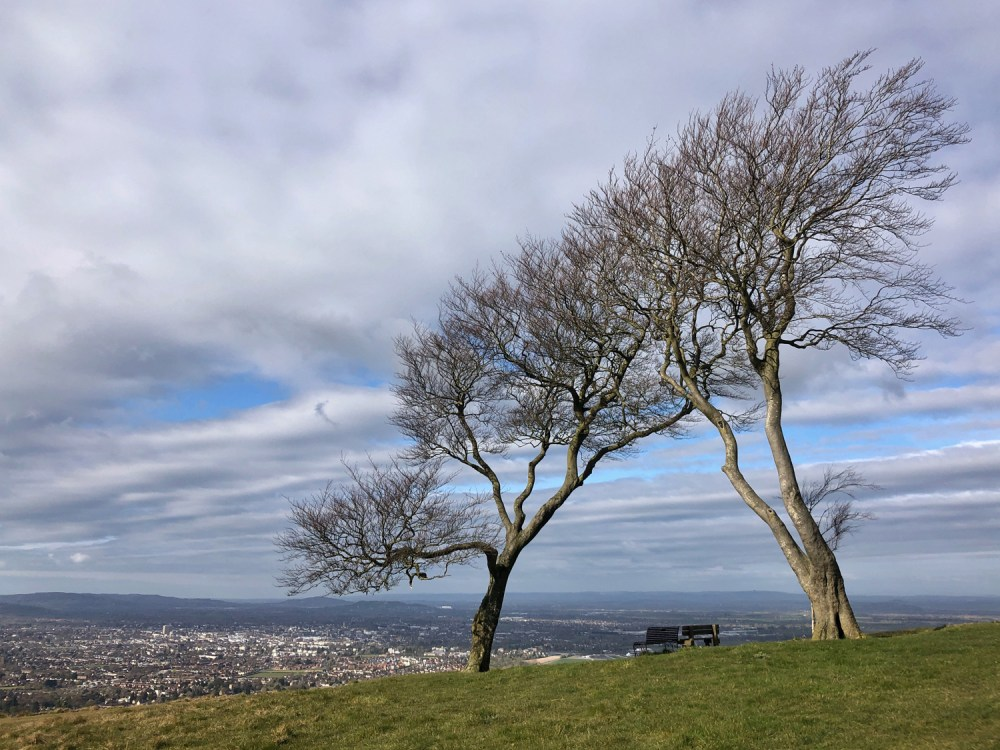 Splodz Blogz | The Twins, View from Cleeve Hill