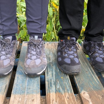 GENDER DIFFERENCES IN HIKING SHOES