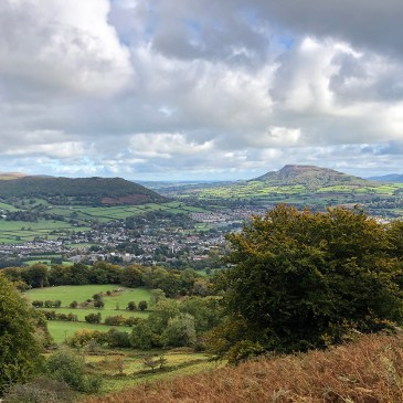 OVER THE BRIDGE TO WALES   AN OUTDOORSY WEEKEND IN ABERGAVENNY