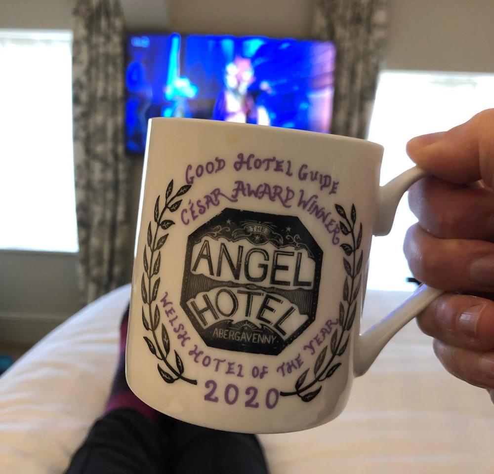 Splodz Blogz | 48 Hours in Abergavenny - The Angel Hotel