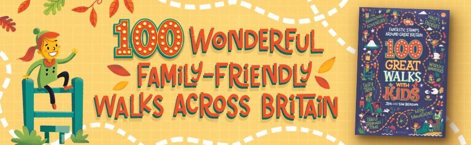 Splodz Blogz | 100 Great Walks with Kids, Jen and Sim Benson