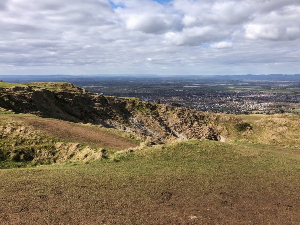 Splodz Blogz | One Hour Outside - View from Cleeve Hill
