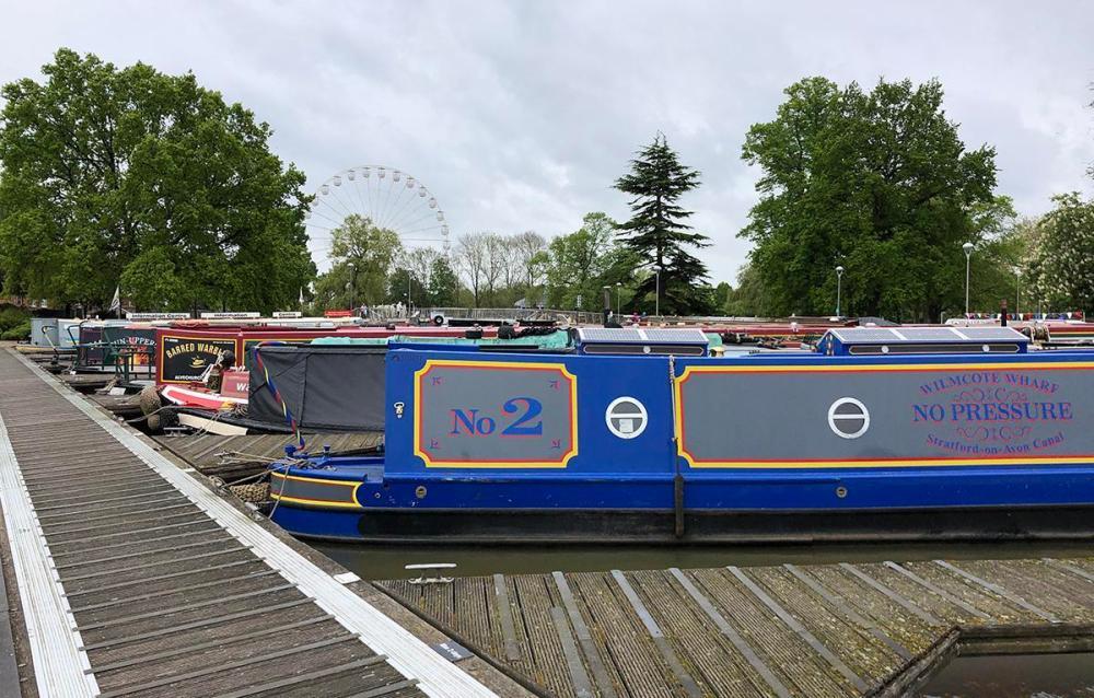 Splodz Blogz | Narrow Boats at Stratford upon Avon