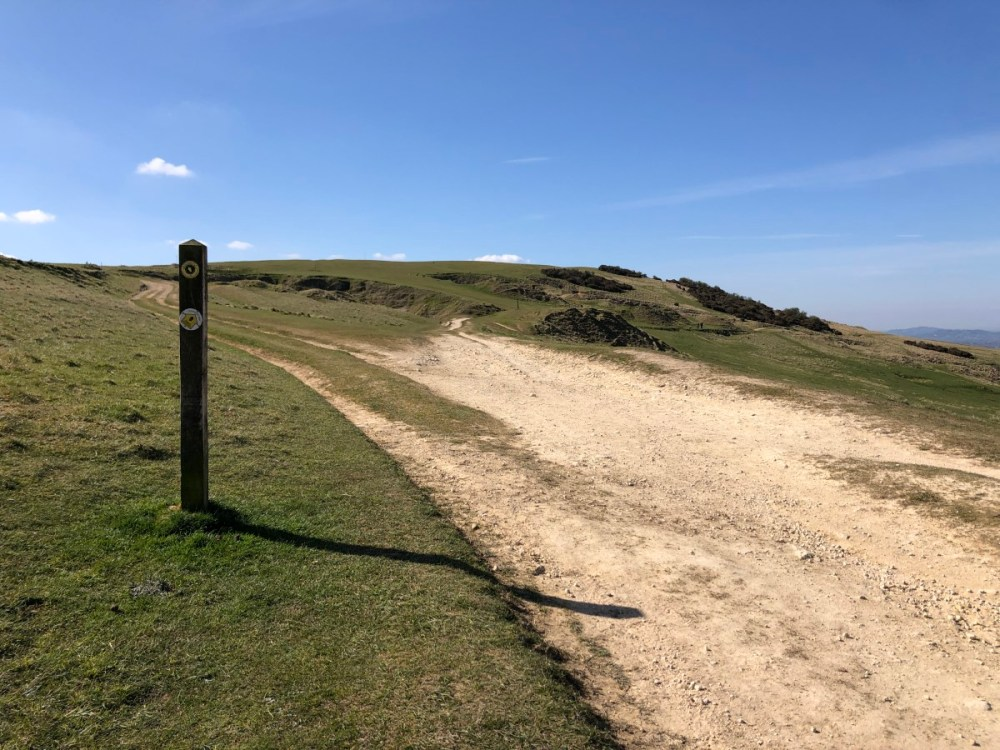 Splodz Blogz | Cotswold Way on Cleeve Hill