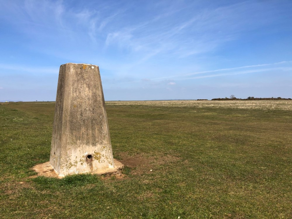 Splodz Blogz | Cleeve Hill Trig Pillar